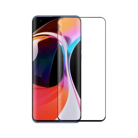 Стъклен протектор за целия екран No brand, За Xiaomi Mi10, 3D, 0.3mm, Черен - 52668