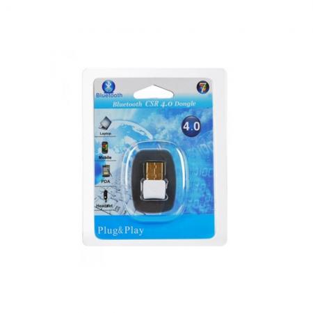 Bluetooth адаптер, No brand, V4.0, Бял - 10006