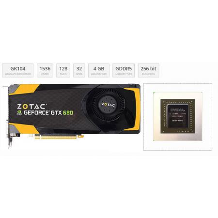 ZOTAC GeForce GTX 680 4 GB GDDR5 256 бит