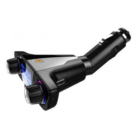 ACCNIC LED Hands Free Wireless4.0 FM предавател Aux модулатор автомобил Авто аудио MP3 плейър двойно USB зарядно