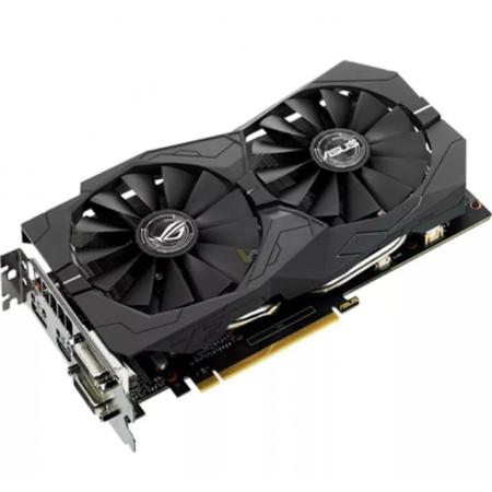 ASUS ROG STRIX-GTX1050TI-4G-GAMING - Графична карта - Видео карта - GF GTX 1050 Ti - 4GB GDDR5 - PCIe 3.0 x16 - 2 x DVI, HDMI, DisplayPort (90YV0A31-M0NA00)