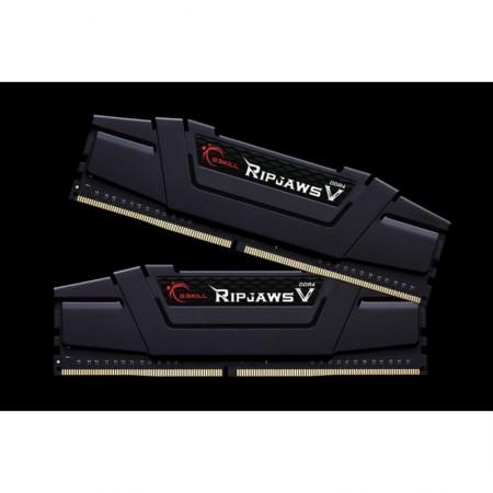 G.SKILL Ripjaws V 16GB (2x8GB) DDR4 3200MHz F4-3200C16D-16GVKB - небуфериран - не-ECC - класически черен (F4-3200C16D-16GVKB)