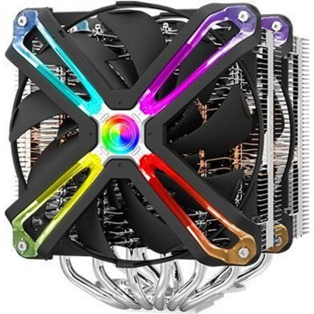 Zalman CNPS20X Компютърно охлаждане на компонентен процесор Охладител 14 см алуминий - черен (CNPS20X)